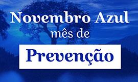 Novembro azul. Câncer de próstata, vamos falar sobre isso